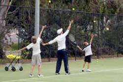 learning serve at clinic